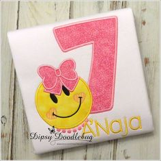 Emoji Birthday - Emoji Shirt - Emoji Party - Happy Emoji - Girls Emoji Shirt - Girls Emoji Birthday Shirt - Emoji Birthday Party