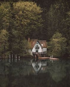 Imaging waking up and having a morning dip. | 29 Wonderfully Cosy Cabins You'll Want To Live In