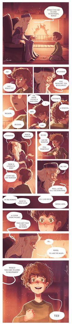Dumbledore's visit