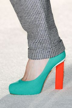 I really like this shoe. Not sure I can handle the height though.