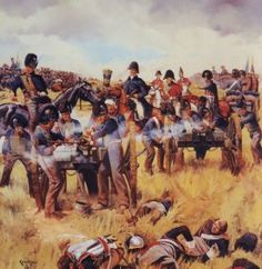 Battle of Waterloo was fought in 1815 near Waterloo in present-day Belgium, An Imperial French army under the command of Emperor Napoleon was defeated by the armies of the Seventh Coalition, comprising an Anglo-Allied army under the command of the Duke of Wellington combined with a Prussian army. #apeurogpnpin