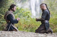 "Athelstan and Ragnar praying ""Our Father"" together."