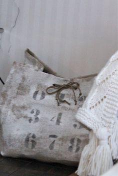 Inspiration: vintage sack...