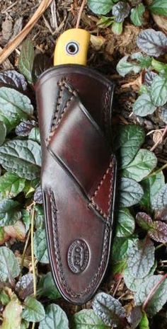 Fiddleback Forge standard leather sheaths | Rick Lowe Custom Leather, Harnessed Rifle Slings, Custom Sheaths