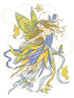 Fairy Enchantment  - 1 of 9 designs by Joan Elliot.