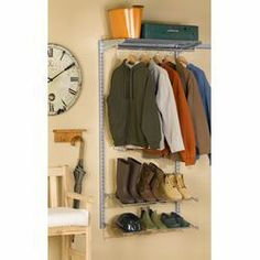 "Triton Products 33""Lx63""H Garment Storage System   Wayfair"