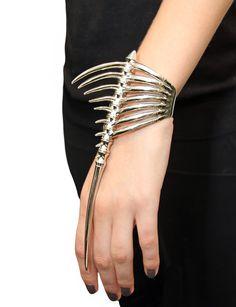 Mugler Spike Skeleton Bracelet