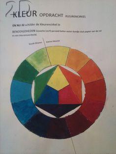 opdracht kleurencirkel ( color circle )