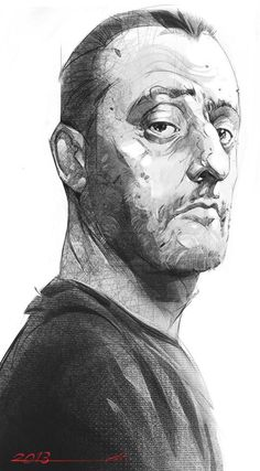 I always loved Leon,also Jean Reno is one of my favorite actors.this is just a free sketch . Face of a professional_ Jean Reno Digital Portrait, Portrait Art, Digital Art, Portrait Sketches, Art Sketches, Jean Reno, Pencil Art Drawings, Digital Illustration, Character Art