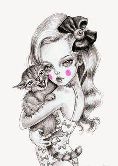 Pinzellades al món: Il·lustracions de Julie Filipenko