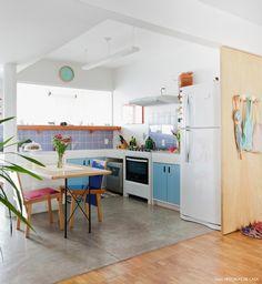Cozinha integrada co