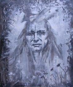 #Shaman#50x60#alkyd,acrylic#rithva.dk#Chiron-The Wounded Healer-project#JKA 5tet# Wounded Healer, Classical Music, Art Forms, Copenhagen, Mythology, Art Decor, Jazz, Original Art, Blanket