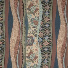 S. Harris outdoor fabric. Nouveau Boho in Garden.