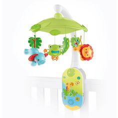 Fisher-Price Rainforest Friends Smart Connect 2-in-1 Projection Mobile