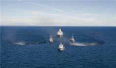 L'exercice Rim of the Pacific (RIMPAC) est le principal exercice maritime international au monde et comprend des pays ayant un intérêt commun pour la région de la côte du Pacifique.