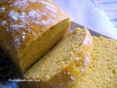 7º World Bread Day - Pão de Cenoura - Cozinhando com Josy