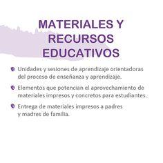 Soporte Pedagógico | MINEDU