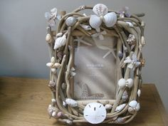 Driftwood Frame With Shells