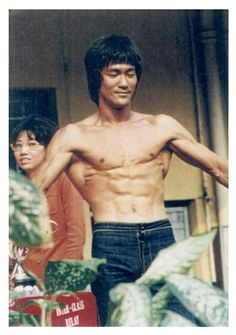 Bruce Lee in his 'Enter the Dragon' movie in 1973