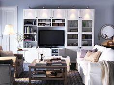 Wohnwand von Ikea