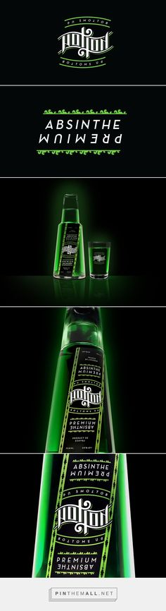 Potion Absinthe on Behance via will pay curated by Packaging Diva PD. Fun packaging concept that will change your perception : )