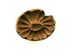 Chrysanthemum Stamp Wood Japanese Vintage Hand by VintageFromJapan, $12.00