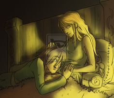 Can you hear me...? by *Ticcy on deviantART.   Cute! (But Hiccup does not have a beard of any kind! :P :D)