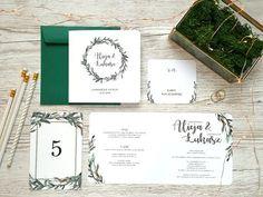 Zaproszenia ślubne - boho 12