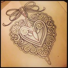 Ready for some skin #tattoo #drawing #design #hearttattoo #filigreetattoo #bowtattoo #gemtattoo #jeweltattoo #thightattoo #armtattoo #backtattoo #art #legtattoo #ink #uktta #uktattoo #girlswithtattoos