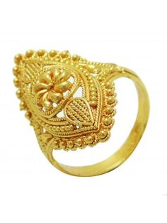 Indian Women Adjustable Ring Gold Plated Jewelry 2 Pieces Cocktail Fashion Gift