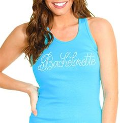 Bachelorette tank for the wedding party
