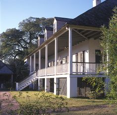 Palo Alto Plantation Ascension Parish La A One And One Half Story Frame Cottage In The French