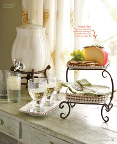What I love about the Gramercy Beverage Serving Set you can use it for both Hot or Cold!  #58053 http://Lindaburt.willowhouse.com