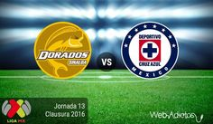 Dorados vs Cruz Azul, Torneo Clausura 2016 ¡En vivo por internet! - https://webadictos.com/2016/04/09/dorados-vs-cruz-azul-clausura-2016/?utm_source=PN&utm_medium=Pinterest&utm_campaign=PN%2Bposts
