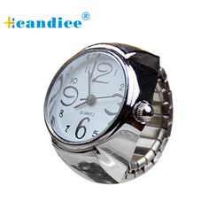 Hcandice Relogio Feminino Dial Analog Creative Steel Cool Elastic Quartz Finger Ring Fashion Horloge Women Watch May5 //Price: $9.95 & FREE Shipping //     #hashtag2