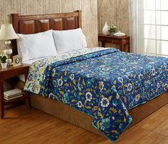 SHILPBAZAAR has come up with the finest range of reversible pure cotton Quilts from the world famous brand. The quilts on display are light weight and yet very warm. These cotton reversible Quilts match the ambience of your room and are also an ideal gift for your friends and relatives on occasions like Weddings, House Warming Parties and anniversaries. https://shilpbazaar.com
