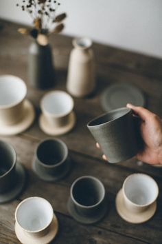 Ceramic pieces with