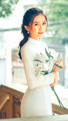 Vietnamese long dress