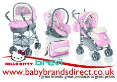 Hello Kitty Stroller for Dolls | ... , and the Hello Kitty Trio Avenue by Brevi offers all this and more