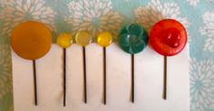 button-bobby pin bookmarks