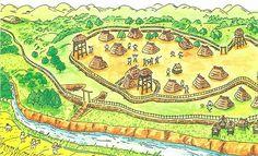 伊万里の歴史や文化、自然の手帳:弥生(やよい)時代2(ムラとクニ、身分、戦争)