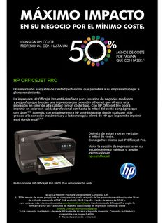 HP Officejet Pro, la mejor opción para imprimir como láser pero con inyección de tinta