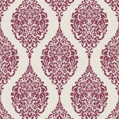 3 rolls of Home of Colour Damask Stripe Wallpaper - Red and White in Home, Furniture & DIY, DIY Materials, Wallpaper & Accessories Damask Stripe Wallpaper, Plain Wallpaper, Black Phone Wallpaper, Star Wars Wallpaper, Trendy Wallpaper, Pattern Wallpaper, Striped Wallpaper Black And White, Dining Room Wallpaper, Bedroom Wallpaper