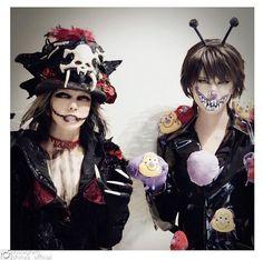 Makuhari Day 3 #VAMPS #HYDE #DIRENGREY #Shinya #VampsHalloweenParty2016 #HalloweenParty2016 #HalloweenParty