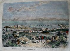 GREECE CHIOS HIOS SCIO XIOS PRINT  1880