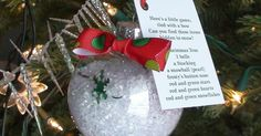 Kerr-afty Creations: I Spy Ornament with vase filler pellets Clear Plastic Ornaments, Diy Christmas Ornaments, Diy Christmas Gifts, Christmas Projects, All Things Christmas, Holiday Fun, Christmas Holidays, Christmas Bulbs, Christmas Decorations