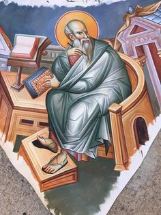 Wall Ornaments, Byzantine Icons, Religious Icons, Orthodox Icons, Saints, Projects To Try, Statue, Painting, Icons