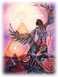 The Divine Feminine Wisdom Teachings with Shannon Port: The Archetypes of Human Consciousness, Reconciliation of Divine Masculine & Divine Feminine, Divine Feminine Astrology, The New Human Sexual Paradigm, Light Body Yoga™ and much more! Divine Goddess, Isis Goddess, Mother Goddess, Goddess Art, Goddess Warrior, Egyptian Queen, Spiritus, Sacred Feminine, Visionary Art