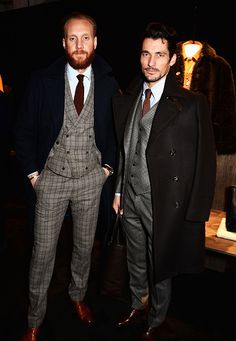 Dapper! #DavidGandy and @joeottawaystyle at the @Coach presentation #LCM #LCM15