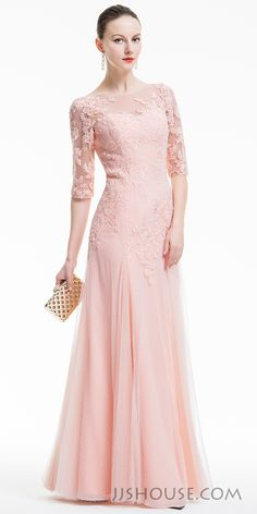 This dress is full of vintage character with a feeling of tenderness. You will surely make a lasting impression in it. #JJsHouse #Eveningdresses